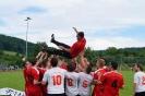 Fußball Aktive feiern Doppelmeisterschaft